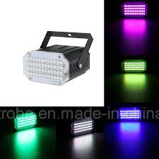 China Mini <b>48PCS</b> RGB LED <b>Stage</b> Equipment Party Strobe <b>Light</b> ...