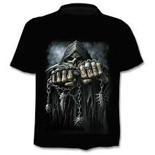 Drop Ship <b>Summer</b> NewFunny skull 3d T <b>Shirt Summer Hipster</b> ...