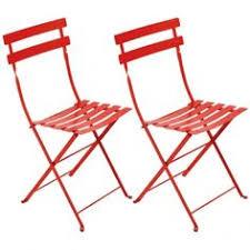 Fermob's <b>Bistro</b> Metal <b>chair</b>, <b>2 pcs</b>, poppy | Metal <b>chairs</b>, Metal <b>bistro</b> ...