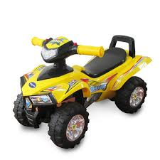 <b>Каталка</b> детская <b>Baby Care Super</b> ATV, желтая - купить в ...