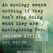 Apology Quotes #50366, Quotes | Colorful Pictures