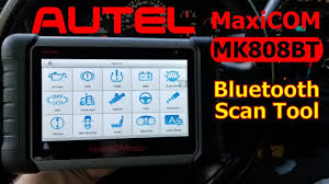 <b>Autel MK808BT MaxiCOM</b> Wireless Bluetooth <b>OBDII</b> Professional ...