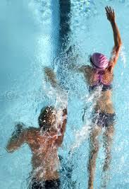 Swimming Drafting in Triathlon