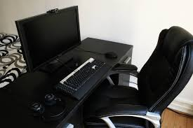 accessories and furniture cheerful gaming computer desk black best pinterest home decor halloween home astounding small black computer