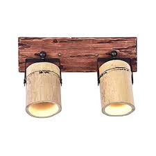 <b>American Retro Industrial Wind</b> Double-Headed Bamboo Solid ...