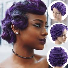 AOSI <b>Synthetic Short Curly</b> Wigs for African American Women Heat ...