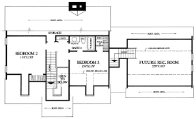 House Plan at FamilyHomePlans comCape Cod Traditional House Plan Level Two