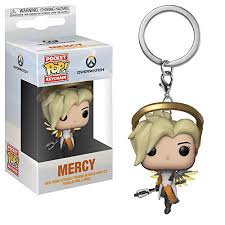 <b>Funko</b> 31748 Pocket <b>POP</b> Keychain: Overwatch: Mercy S3, Multi ...