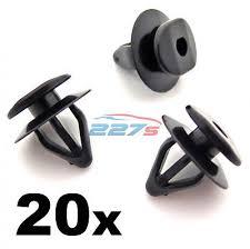 <b>20x</b> Side <b>Moulding</b>, Door Strip & <b>Wheel Arch Trim</b> Clips, Fit some ...