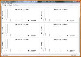 printable raffle tickets receipt templates printing raffle tickets tab