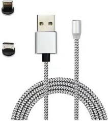 x-cable <b>metal magnetic</b> cable <b>360</b> for android and iphone : Buy ...