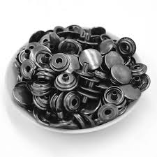 <b>50 sets</b> of a package. <b>Metal</b> snap fastener <b>metal buttons</b> Rivet <b>clasp</b> ...