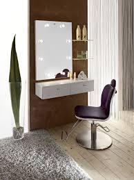 white glossy wooden floating make up table under frameless wall charming makeup table with mirror charming makeup table mirror