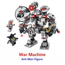<b>New Superheroes Avengers 4</b> War Machine Buster Building Blocks ...
