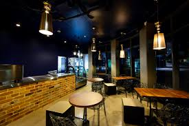 caf cafe lighting design