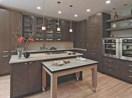unfinished kitchen doors choice photos: the owner of this home wanted a cutting edge kitchen and the two single ovens anchor the sleek design that emerged mother of pearl granite countertops and
