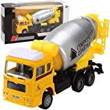 Mini Pull Back <b>Simulation Construction</b> Fire Engine Truck Model ...