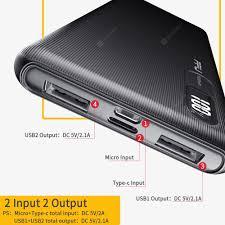 <b>FPU Power Bank</b> 10000mAh Portable Charger Power Bank Slim ...