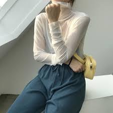 Female tissue embroidered gauze render unlined upper garment ...