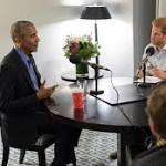 "This Video Of Prince Harry & Obama Has Everyone Screaming About Their International ""Bromance"""