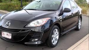 Black Mazda 3 2009 Mazda 3 Bl10f1 Maxx Sport Black 6 Speed Manual Sedan Youtube