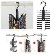 <b>2 Pcs</b> Creative Tie Hanger <b>Space Saving Multifunctional</b> Tie Rack ...