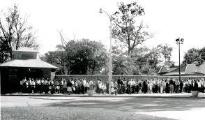 it all starts a tunnel toledo zoo circa 1950s zoo entrance