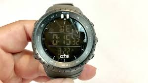 OTS 50M Waterproof Black <b>Military</b> LED <b>Sports</b> Digital Watch ...