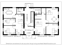 Commercial Office Building Floor Plans  office floor plans online    Commercial Office Building Floor Plans