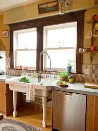 open kitchen design farmhouse: stainless steel appliances original photog lisa warninger kitchen sink sxjpgrendhgtvcom
