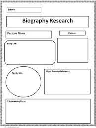 buying an essay graphic organizer Common Core Biography Research Graphic Organizer
