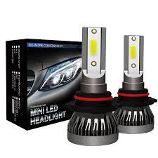 <b>2 Pcs H1 H4</b> H7 H11 9005 9006 LED Headlight 6063 Aluminum ...