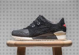Asics Gel lyte III <b>Perforated</b> Black White H7E0L-9090 Mens 8.5-13 ...