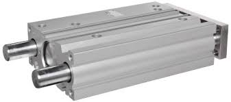 <b>SMC</b> MGP Series Aluminum Air Cylinder with Guide Rod Plate ...