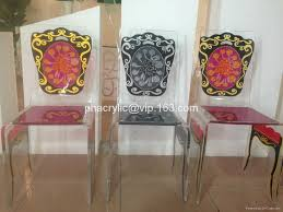 Acrylic Dining Room Chairs Acrylic Printing Design Chair Hong Kong Manufacturer Dining