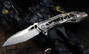<b>Складной нож CKF</b> DCPT Tano, сталь 20CV, рукоять Titanium ...