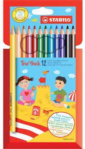 <b>Stabilo</b> Набор цветных <b>карандашей</b> Trio 12 цветов — купить в ...