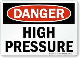Resultado de imagem para high pressure