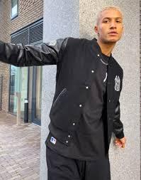 Черная <b>куртка</b> в университетском стиле New Era MLB <b>New York</b> ...