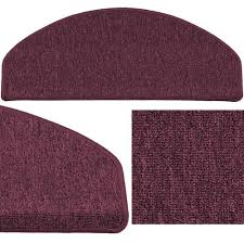 Rugs & Carpets 9.45 '' x 25.6 '' Set of <b>15 stair mats staircase mat</b> ...