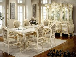 Dining Room  INTERIOR CLASSIC WHITE HOME DECORATING IDEAS CHEAP - Dining room cabinets for storage