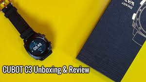 <b>CUBOT C3 Smartwatch</b> Unboxing & Full Review - YouTube