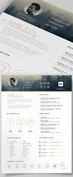 17 best ideas about resume resume template resume template and icons psd