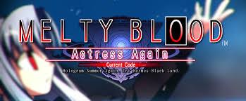 Hasil gambar untuk Melty Blood Actress Again Current Code PC