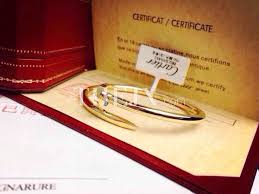 Replica Cartier Nail <b>Bracelet</b> Three Colors Gold Rose Gold And ...