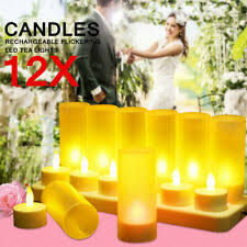 <b>Rechargeable</b> Decorative <b>Candles</b> for sale | eBay
