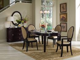 Formal Round Dining Room Sets Oval Nice Natural Design Of The Mirrored Dining Room Furniture