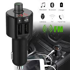 <b>Hot Selling</b> Bluetooth Car FM Transmitter Wireless Radio Adapter ...