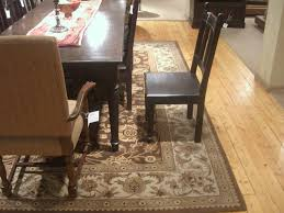dining table set rug