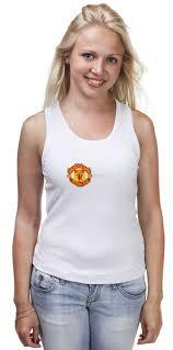 "Майка классическая ""Фуболка для фанатов ""<b>Манчестер Юнайтед</b> ..."